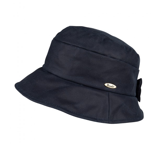 Rain hat - CARLA/B - navy wax