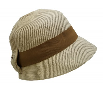 Cloche - Madhila - naturel - travel hat