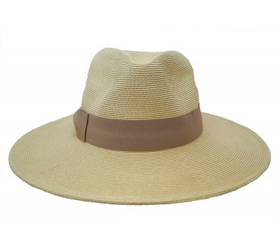 Fedora hat- Veronique - natural