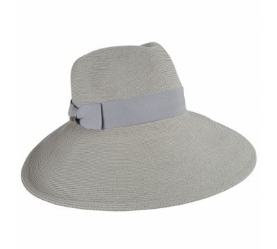Wide brim - Birtha - pale grey
