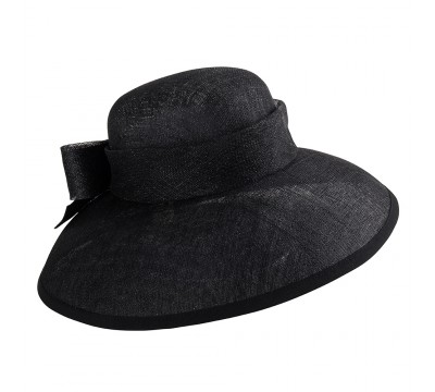 ceremonial hat - Audrey - black
