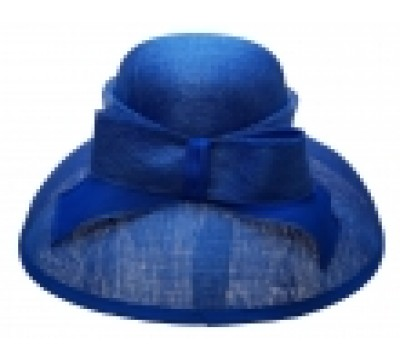 ceremonial hat - Audrey - royal blue