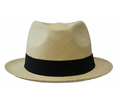 Panama hat - Bob - natural/navy