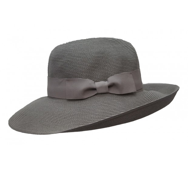 Fedora Hat - Cien - greige - travel hat