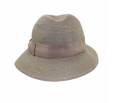 Fisher hat - pale grey - travel hat