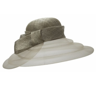 Ceremonial hat - Kasha -silver grey