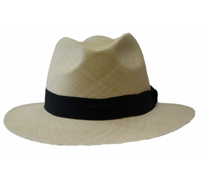 Panama hat - Luc - natural/black