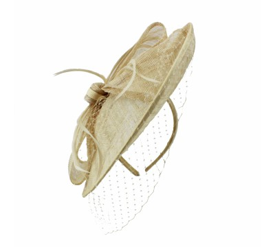 Fascinators - Sheila - Sand