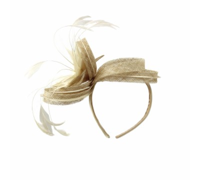 Fascinators - Anne - Sand