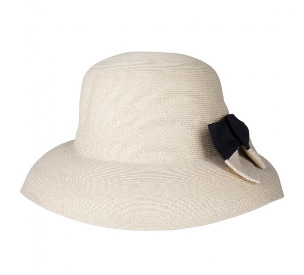 Wide Brim hat - Barbara - natural - travel hat