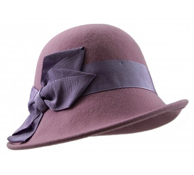 Cloche - Edith - pink/lilac