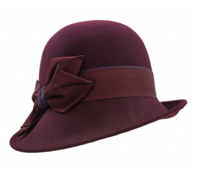 Cloche - Edith - burgundy