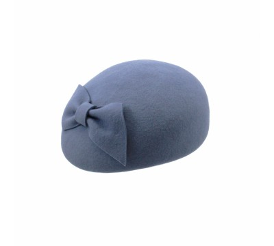Pillbox hat - Willemijn - Blue Celeste