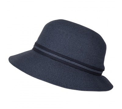 Cloche - Julia - navy - travel hat
