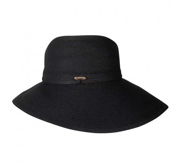 Bronté Wide Brim hat -Melina - black