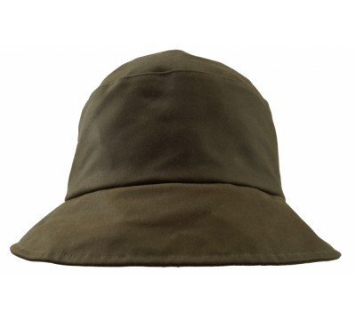 Rain hat - Pip - green wax