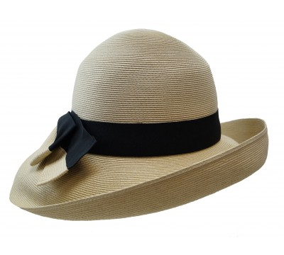 Wide brim hat - Tara - natural