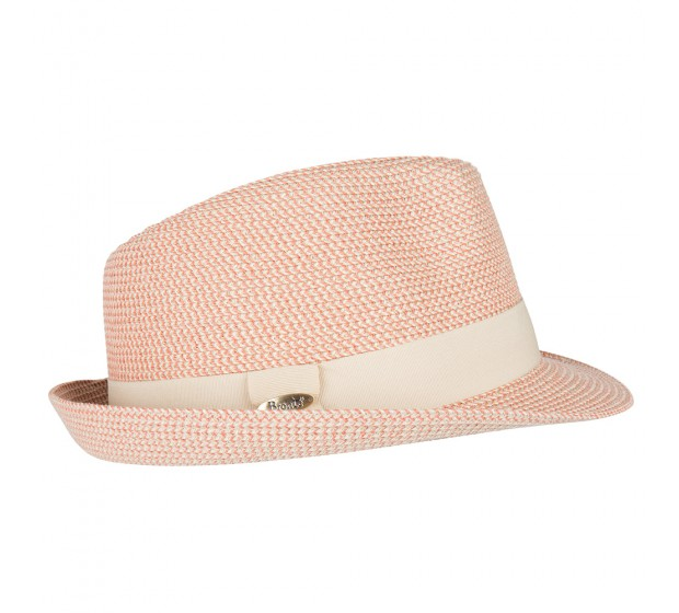 Bronté Trilby hat - Trilby - coral melee