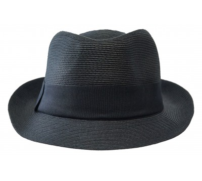 Trilby hat - Trilby - black -travel hat