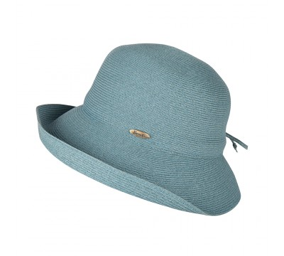 Cloche hat - Zoey - teal-green