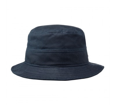 Bucket rain hat -  Robin - navy blue