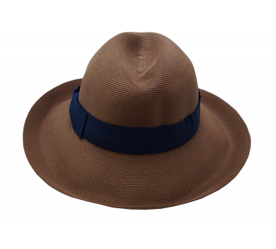 Fedora hat - Cien - brown tan - travel hat