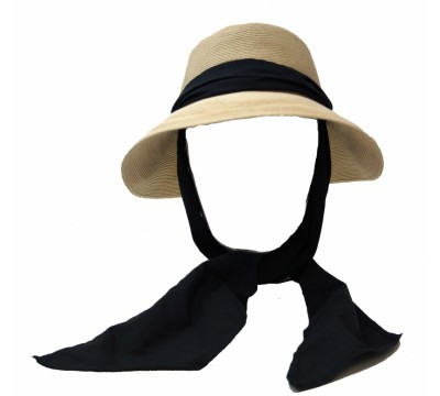 Wide brim hat - Manly - naturel