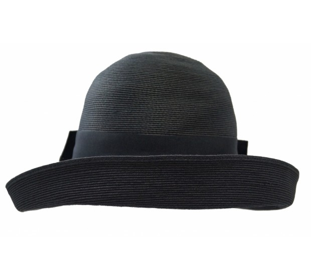 Bronté Wide brim hat - Tara - black - travel hat
