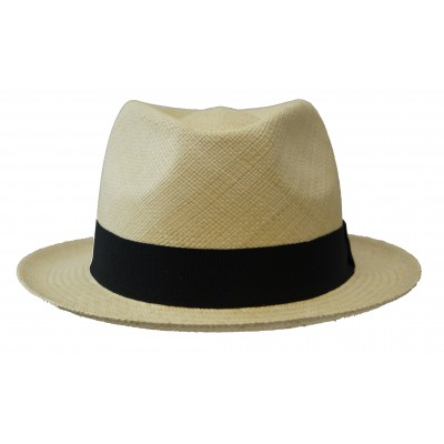 Trilby Hat - Bob - Panama- natural