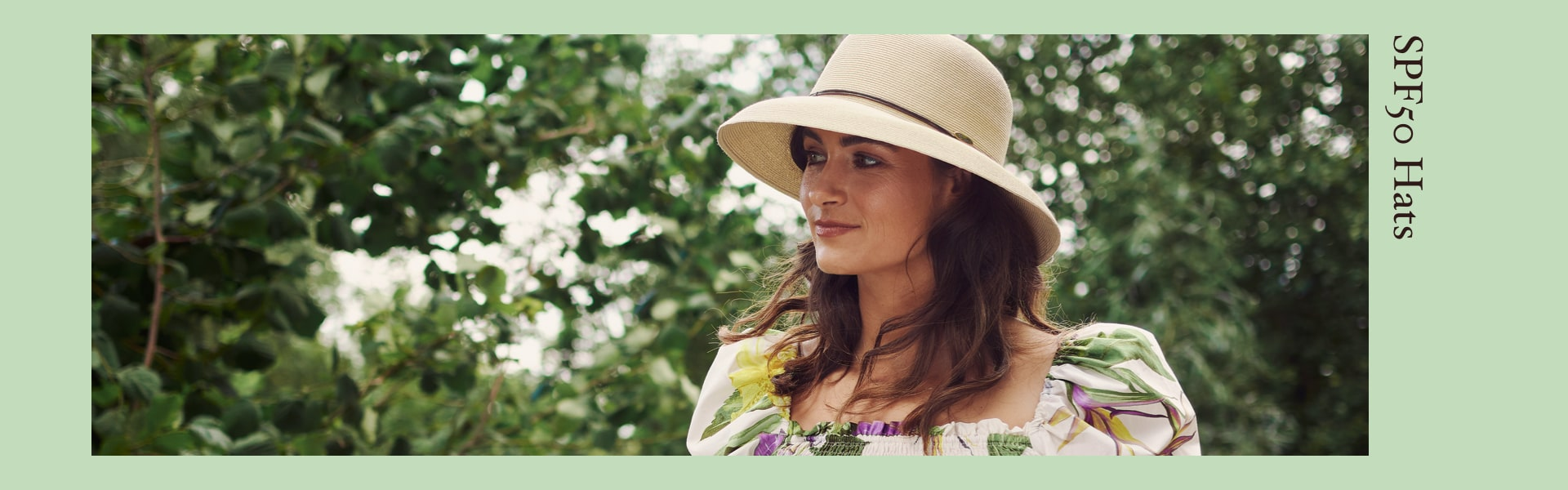 Bronte SPF50+ sun protection hats SS21