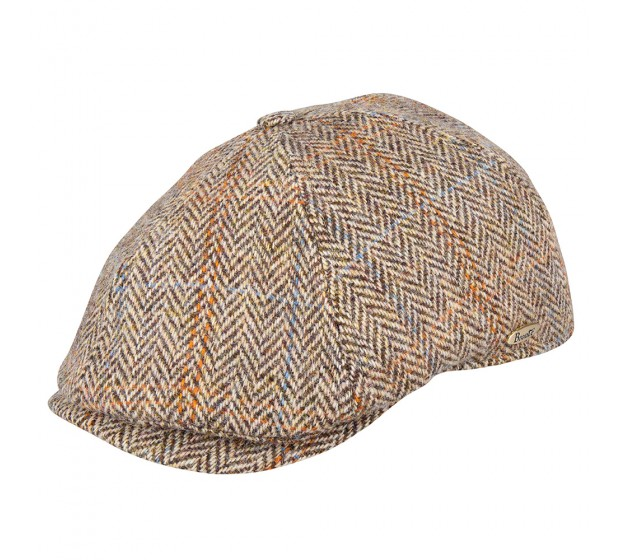 Bronté Cap - Rocky - Harris Tweed light brown