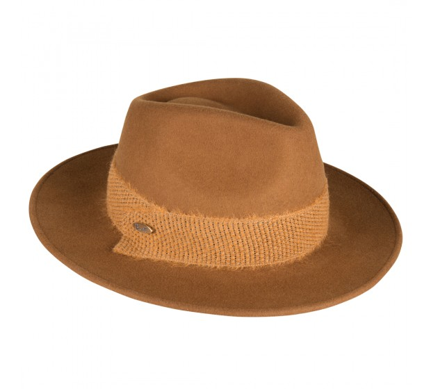 Fedora hat - Billy B - Cognac