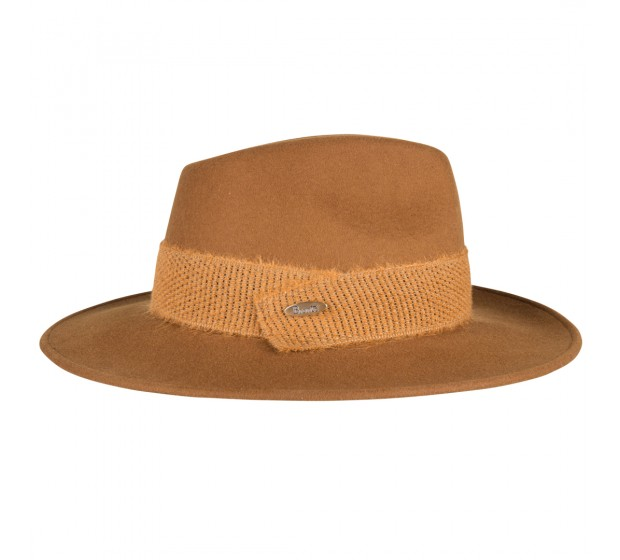 Bronté Fedora hat - Billy B - Cognac