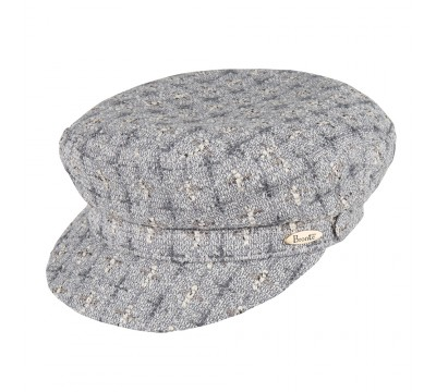 Cap - Shipper - Linton Tweed grey melange