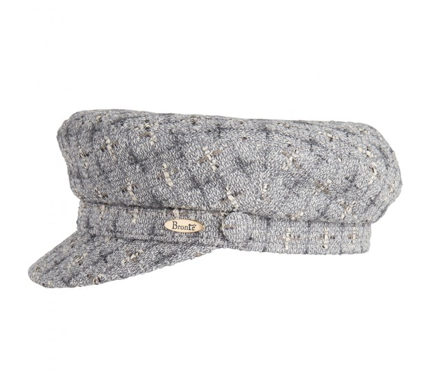 Bronté Cap - Shipper - Linton Tweed grey melange