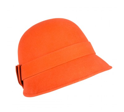 Cloche - Sophia - orange<br />