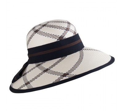Wide brim - Ava- white <br />