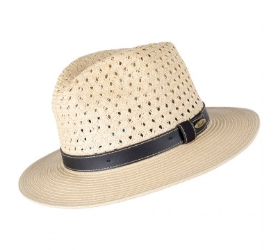 Fedora - Melle- natural/brown