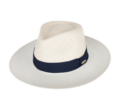 Fedora hat - Sandra- Panama - natural/bleach