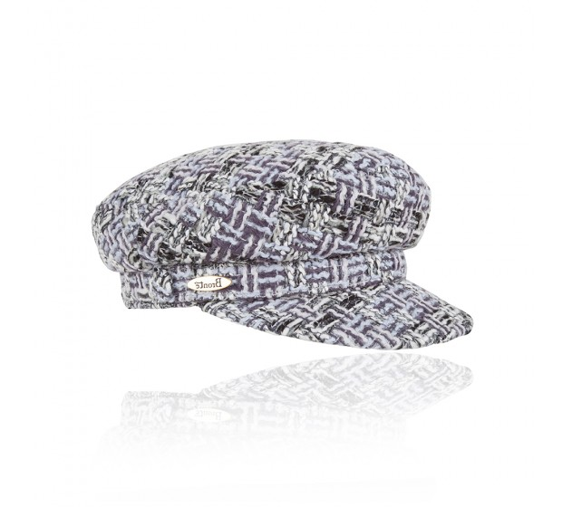 Bronté Cap - Shipper's - Linton Tweed grey
