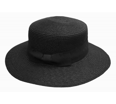 Boater hat - Matelot - black