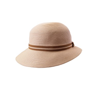 Cloche- Julia - natural - travel hat