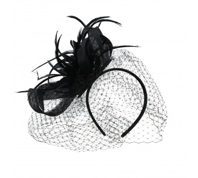Fascinators - Veerle - Black