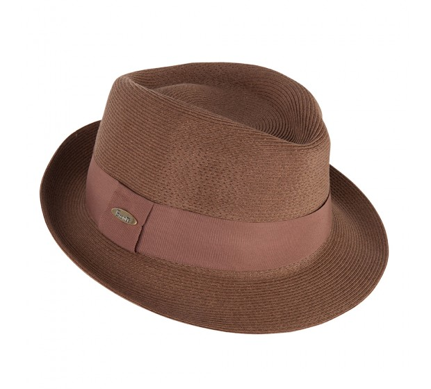 Trilby hat - Trilby - tan brown