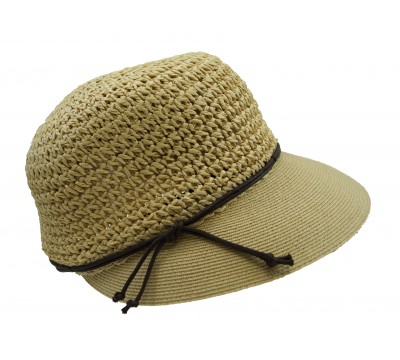 Summer cap - Emma - natural - travel cap