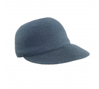 Summer cap - Linda -navy - travel hat