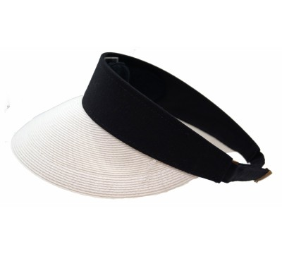 Sun visor - Evy - White and navy