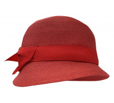 Cloche - Cloche - coral red - travel hat