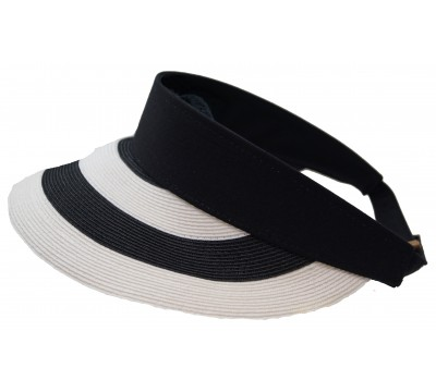 Sun visor - Evy - black/white