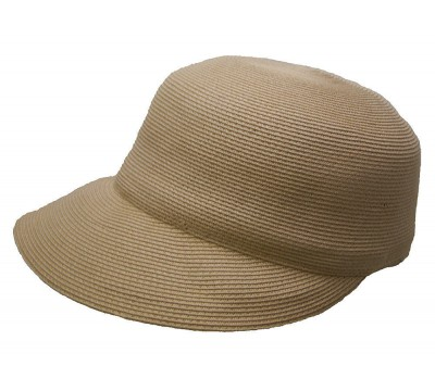 Summer cap - Linda - in camel